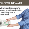 Mortgagor Beware: Prying money from your homeowner's insurance company is not the only battle homeowners face if they have a mortgage on their home