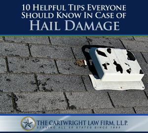 10 Helpful Tips Everyone Should Know in Case of Hail Damage
