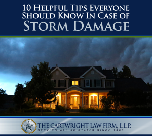 10 Helpful Tips Everyone Should Know in Case of Storm Damage