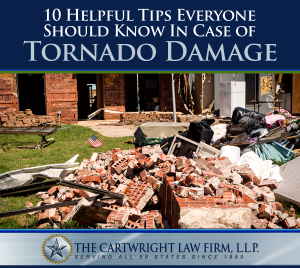 10 Helpful Tips Everyone Should Know in Case of Tornado Damage