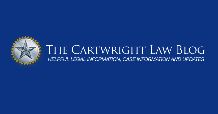 The Cartwright Law Blog
