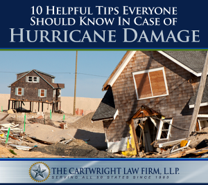 10 Helpful Tips Everyone Should Know in Case of Hurricane Damage